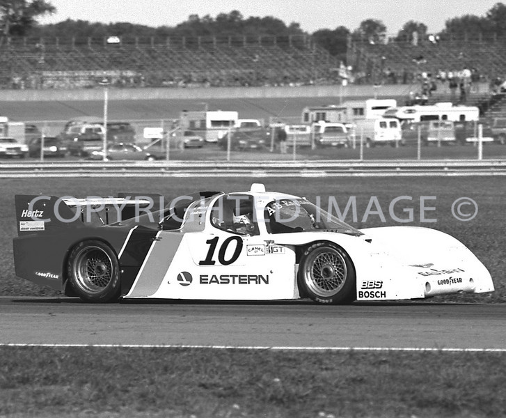 Michigan Int, Andy Blank, Mario Andretti, 1984