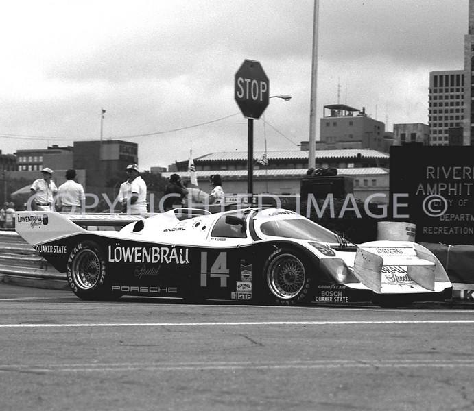 Columbus, Ohio, Unser Sr And Unser Jr, Porsche, 1986