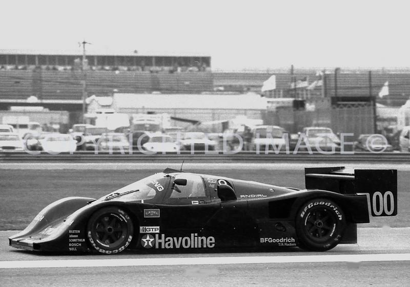 Daytona 24 Hrs, Mario, Michae,l Jeff Andretti, 1991