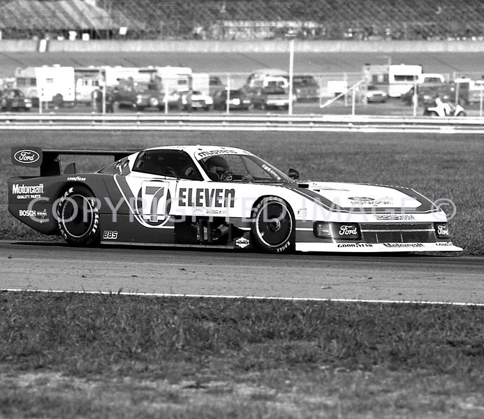Michigan Int, Klaus Ludwig, 1984