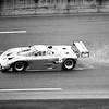 Daytona 24Hr Race, Actor, Sport Car Driver, Champion, Paul Newman Runs In The Rain, 1991