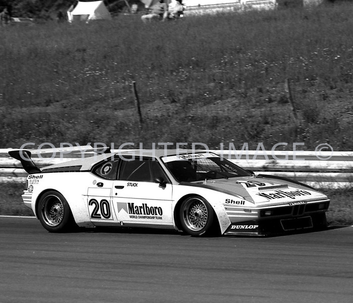 Watkins Glen, Hans Stuck, 1981