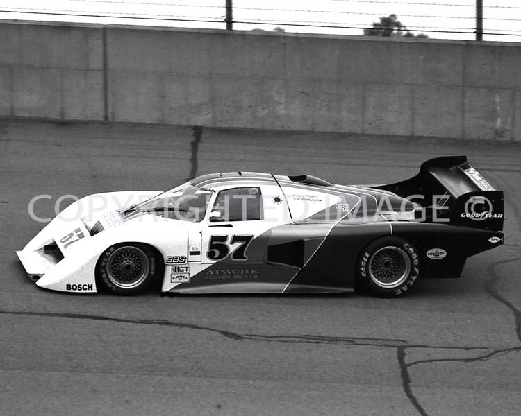 Michigan Int, Dale Wittington, 1984