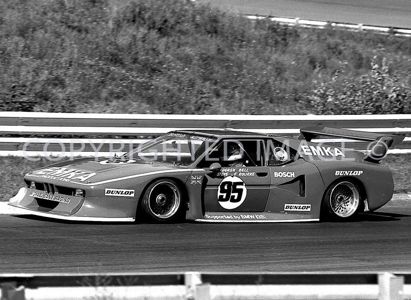 Watkins Glen, Derick Bell, Steve Rourke, 1981