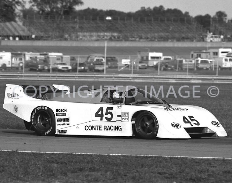 MIchigan Int, John Paul Jr, John Morton, 1984