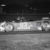 Daytona 24Hr Race, Geoff Brabham Drives During The Night, 1991