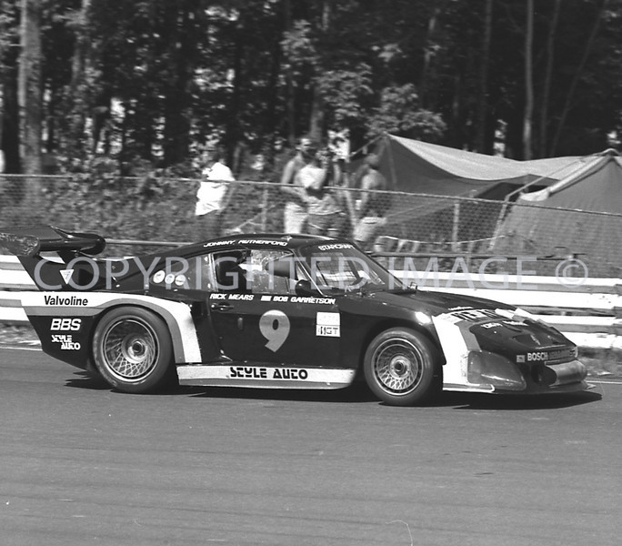 Watkins Glen, Rick Mears, Johnny Rutherford, 1981