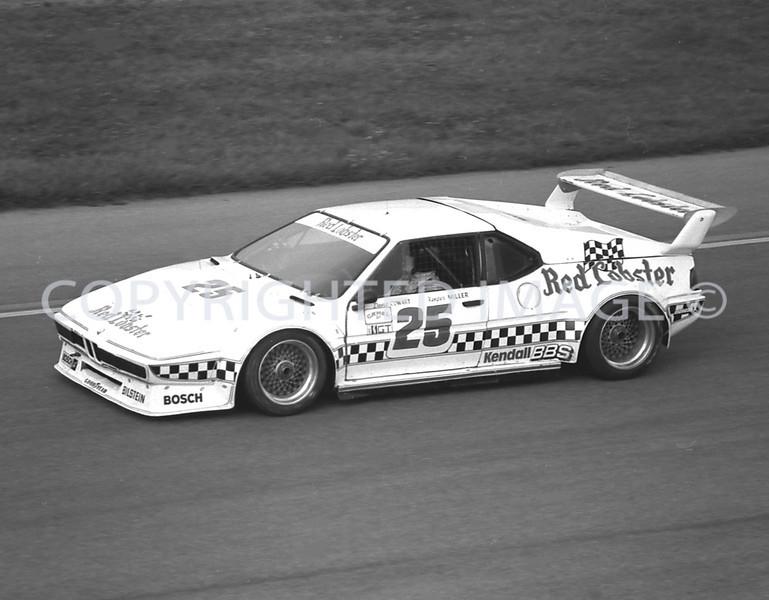Pocono, Dave Coward, 1981