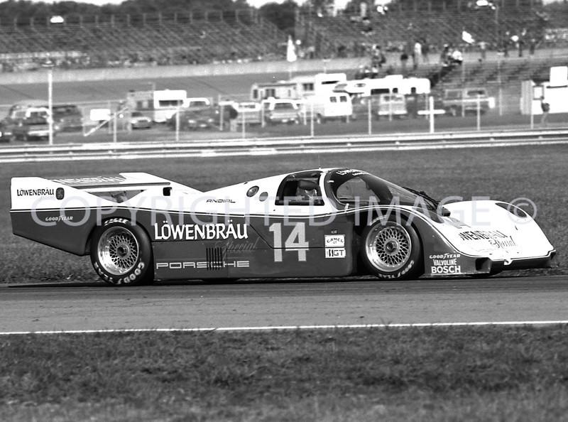 Michigan Int, Al Holbert, Derick Bell, 1984