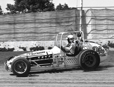 Hoosier Hundred, Roger McCluskey, USAC, 1972