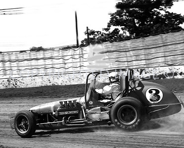 Hoosier Hundred, Foyt Who Won The Race 6 Times Finished 2nd, USAC, 1972
