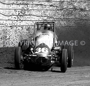 Hoosier Hundred, Johnny Rutherford, USAC, 1972