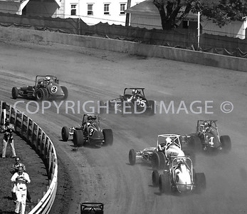 Hoosier Hundred, Battling For Position, USAC, 1972