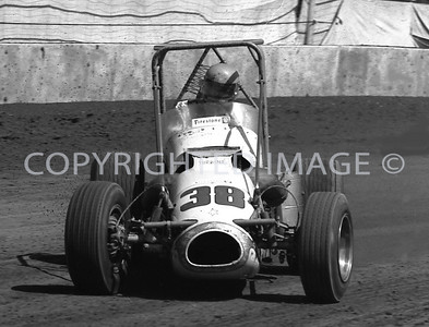 Hoosier Hundred, Jigger Sirois, Riley Turbine Allison, USAC, 1972