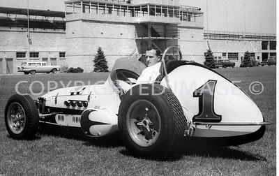 Indianapolis, A J Foyt, Chini Collection, 1964
