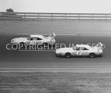 Michigan, The Petty team Battles for position, 1970, NASCAR