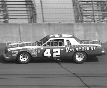 Michigan Int, Country Singer And Race Car Driver Marty Robbins, NASCAR, 1979