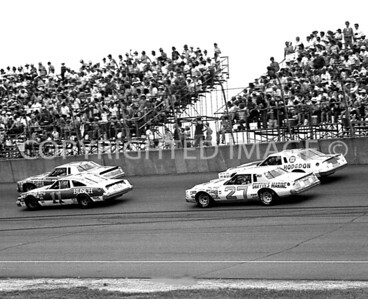Michigan Int, Action AsThey Battle For Position, NASCAR, 1979