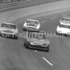Michigan, Baker leads Hamilton, Leeroy, Yarbrough, Brooks and Issac during race, 1970