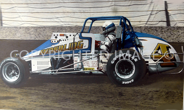 Hoosier Hundred, Joe Saldana, Qualifying, 1985