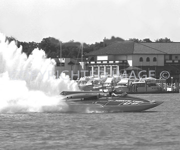 Detroit River, U-8 North Turn, 1981