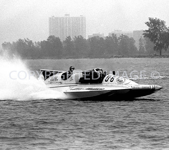 Detroit River, Miss Madison, 1977