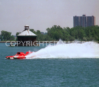 Detroit River, Miss Winston Eagle, 1992