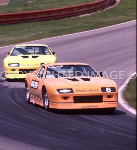 Mid Ohio, Mario Andretti, Waltrip, 1987