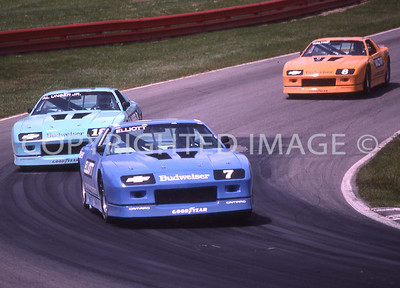 Mid Ohio, Elliott, Unser, Waltrip, 1987