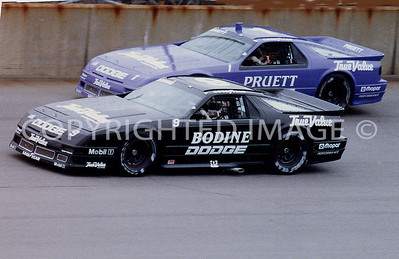 Michigan, Geoff Bodine, Scott Pruett, 1991