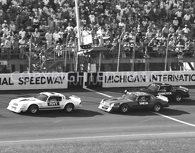 Michigan, Foyt Leads Johncock, Sneva On Way To Victory, 1978