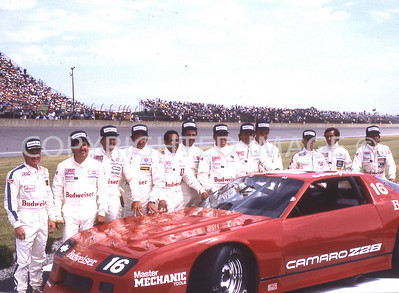 Michigan, IROC Drivers, 1984