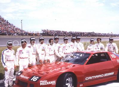 Michigan, IROC Drivers, 1984