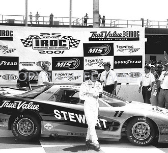 Michigan, Tony Stewart, Victory Circle, 2001