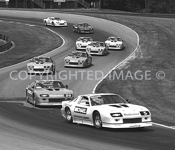 Mid Ohio, Michael Andretti Leads The Pack, 1987