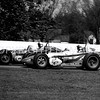 Milwaukee, 9 Parnelli Jones battles with 7 Len Sutton, 1962