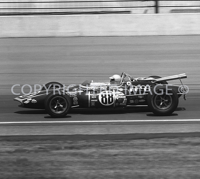 Indianapolis, Jerry Grant, 1966