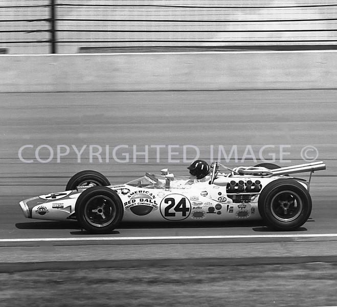 Indianapolis, Graham Hill, 1966