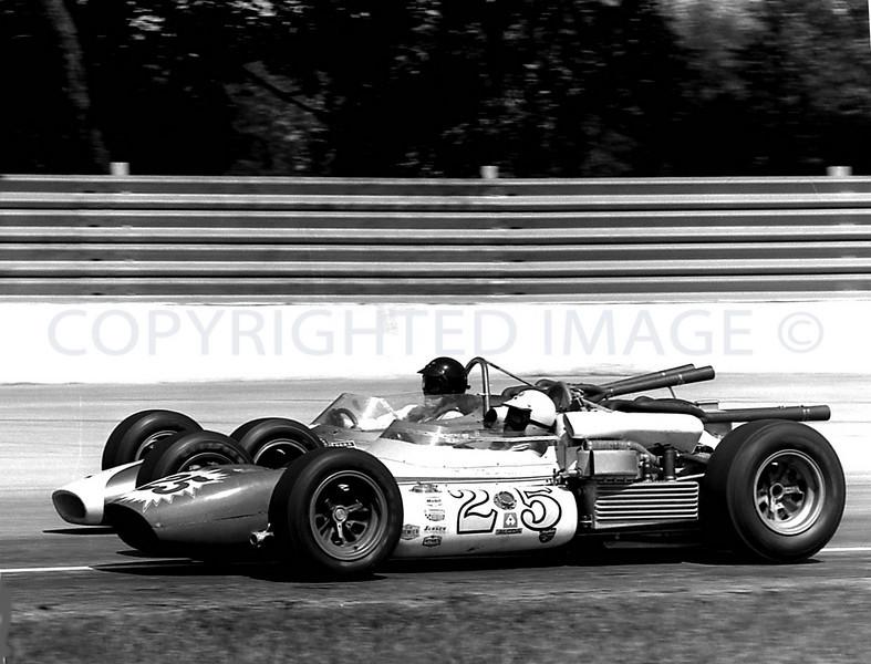 Milwaukee, McCluskey and Gurney race side by side, 1965