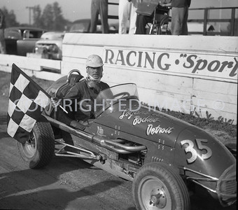 Mt. Clemens, Jimmy Daveis wins feature, June 1959