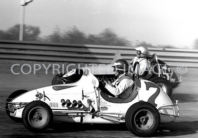 Terre Haute, Duman and Larson Race side by side, 1964