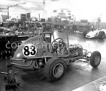 Houston, Foyts Midget Sits Ready For The Astrodome, 1970