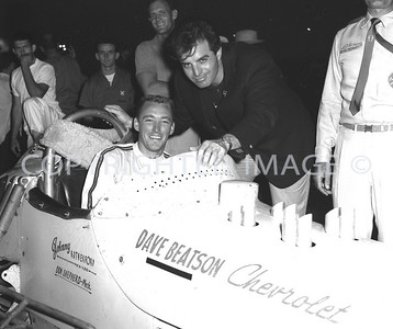 Anderson, Johnny Rutherford, Pace car driver Ben Casey,1960