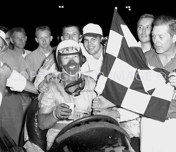 Anderson, Duman pulls in after 500 laps to win his first Little 500, 1959