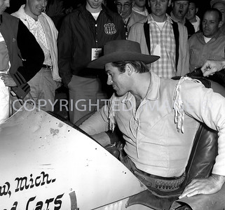 Anderson, Clint Walker was pace car driver, 1961, Little 500