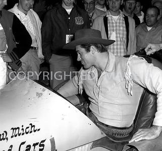 Anderson, Clint Walker was pace car driver, 1961, Little 500