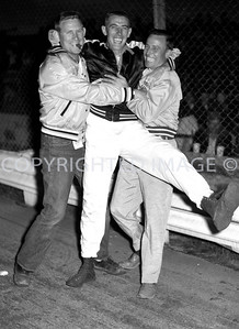 Anderson, Little 500, USAC Drivers not allowed in Outlaw pits, 1959