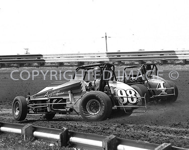 Terre Haute, Jimmy Oskie, Battles With Charlie Workman, CRA, USAC, 1985