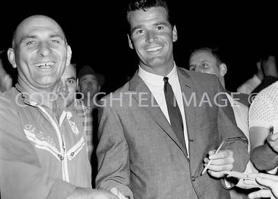 Anderson, Al Miller with James Gardner, Little 500, 1959