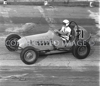 Anderson, Jack Rounds Qualifying For Little 500, 1959